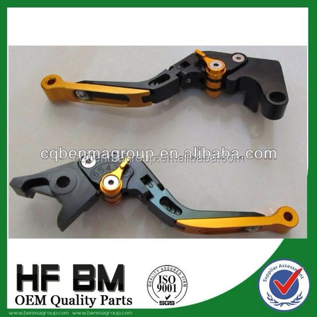 Motorcycle cnc folding adjustable handle lever,adjustable clutch and brake lever cnc