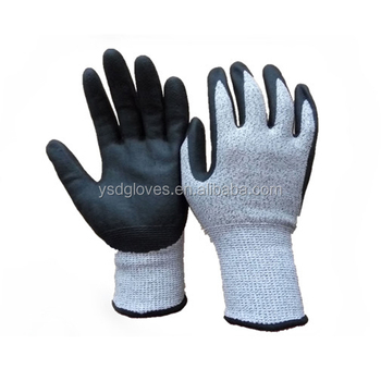 13 Gauge Cut Resistant Nitrile Microfoam Coated Gloves