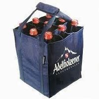 top quality cotton canvas wine bag