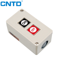 CNTD Surface Mounting 3A 250V Plastic Casing ON-OFF Control Box Power PushButton Switch (CPB-2)