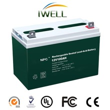 IWELL NPC Series Alarm Battery Security System Batteries