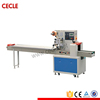 Stainless steel candy pillow wrapping machine