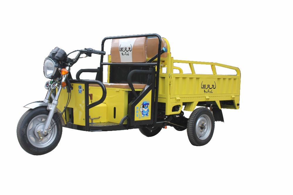 2015 Fashionable passenger electric tricycle with truely competitive price