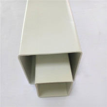 Customize White Color Rectangular and Square Shape Plastic 8 inch Square PVC Pipe