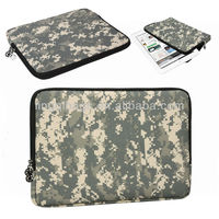 Digital Camo ACU Pattern Computer Slipcase Laptop Sleeve Notebook Carrying Case For Apple MacBook Air/Samsung/Acer/Dell/Notebook