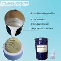 liquid silicone with hardener for mold making