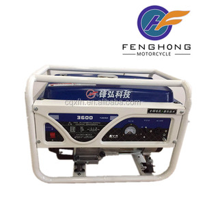 Good quality cheap price potable 6.5hp gasoline generator set 3000 3kw generator