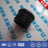 Plastic threaded plug end plugs for furniture screw pipes