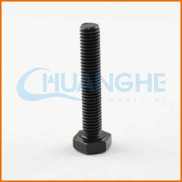 High Tensile Fastener nut and bolt, hollow plastic bolt
