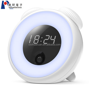 Hot Sale Manufactory Modern Design Touch Control LED Sunrise Alarm Clock