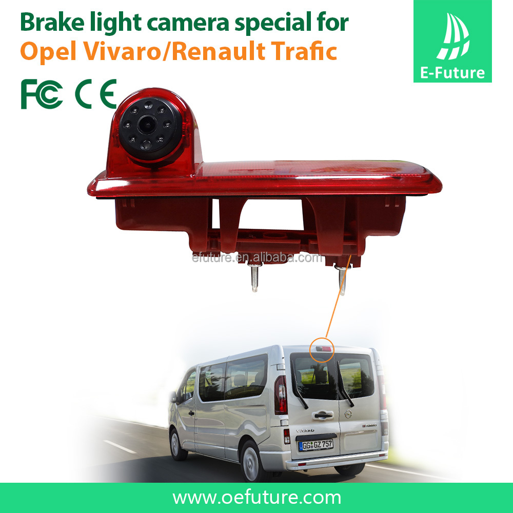 Waterproof IP68 brake light camera for 2014 Opel vivaro/2014 Renault Trafic