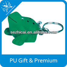 Best promotional gifts ornamental frog cheap pu stress balls led giveaway gifts