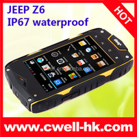 Jeep Z6 IP67 Waterproof outdoor rugged mobile phones