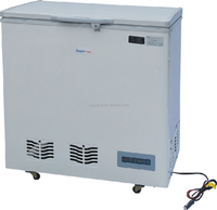 108L 138L 158L 178L 228L mobile chest top solar DC 12V 24V chiller freezer fridge refrigerator