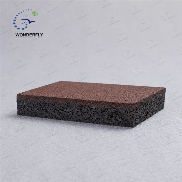 shockproof anti slip rubber mat / table tennis rubbers / gym weights