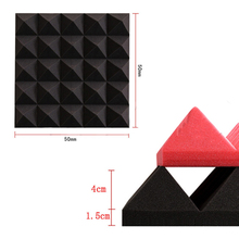 Roll Sound Proofing Insulation Absorbing Sponge Wall Wedges Studio Soundproofing Sound Proof Soundproof Acoustic Foam Panels
