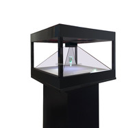 Hologram 3D Showcase Display system for showing 3D holographic