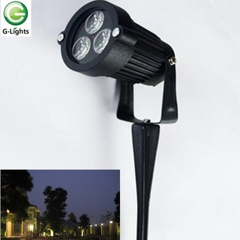 Competitive project quality landscape outdoor LED 3watt spike light