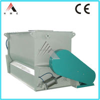 China low price high efficiency compound feed ribbon mixer