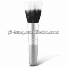 Single Powder Brush with Mixture of BJF Goat Hair and Nylon Hair Brush Tip and Wooden Handle