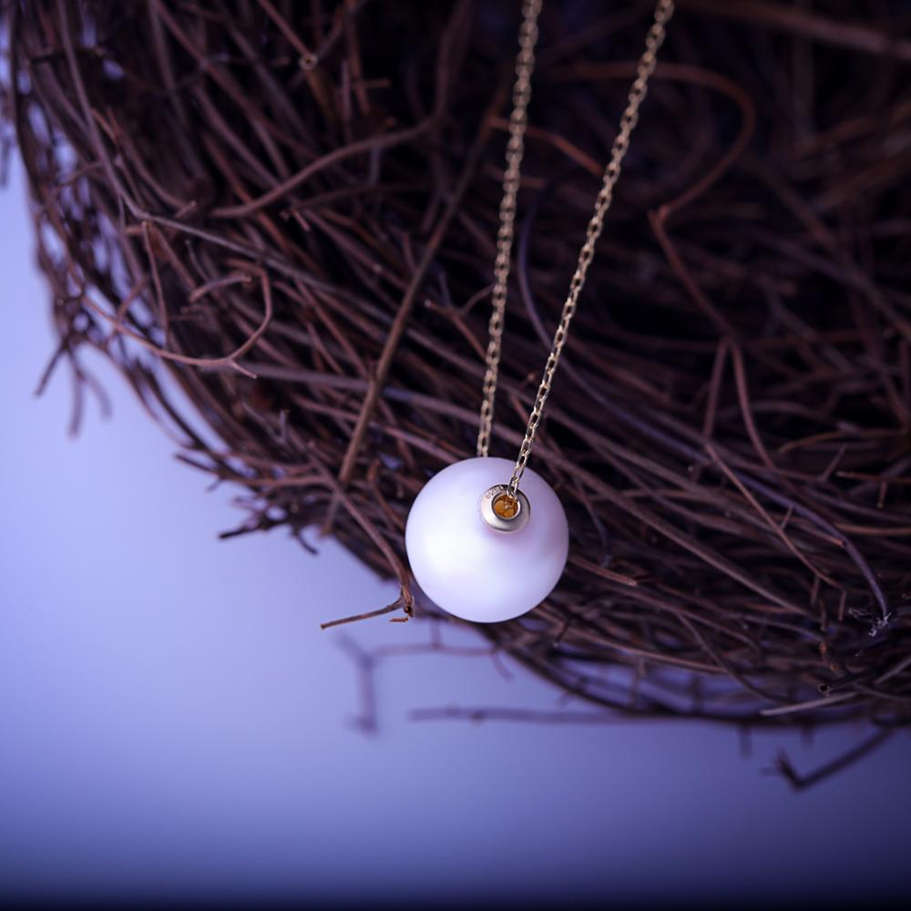 Wholesale Girls New Gold Chain Design,Fashion 18k Gold Freshwater Pearl Necklace