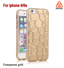 2016 Custom tpu case, phone accessoires , tpu mobile case for sale for Iphone 6 /6s Water cube tpu case
