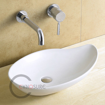 CY5357-CE proved Bathroom sanitary ware basin ceramic art bathroom sink OEM