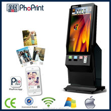 "42"" lcd digital signage advertising player WLAN/WiFi/3G/4G network 3D photo printer instant photo booth customize China factory"