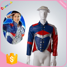 Anime Uchu Sentai Kyuranger character cosplay cosutmes uniform men's coat for free shipping