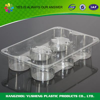 PET plastic type food use disposable cake tray