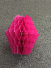 FSC honeycomb paper craft for wedding decoration