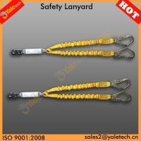 YL-E525 fall arrests with rope/rescue rope safety/shock absorbing lanyard