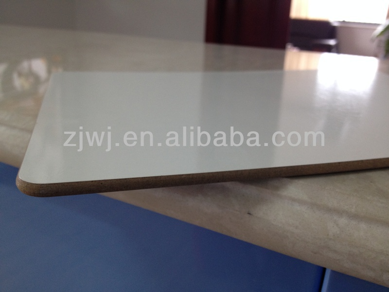 Jiangsu whiteboard supplier Melamine white board without frame