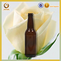 Amber 330ml beer/liquor glass bottle