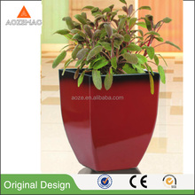 Low price painting glazed planters cheap ceramic flower pots garden pot