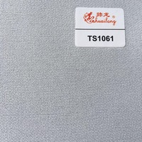 Garment 100 polyester woven fusible interlining fabric for water-repellent coating