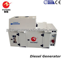 Carrier style refrigerated genset for reefer container