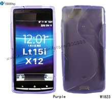 S Line Curve TPU Skin Case Cover for Sony Ericsson Xperia Arc LT15i x12