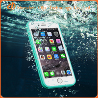 2016 hot selling tpu pc hybrid waterproof case for iphone 6