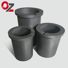 China supplier SiC graphite crucible for aluminum melting