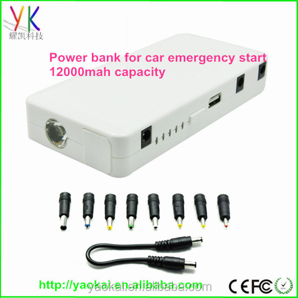 12000mAh/15000mAh/18000mAh 12V 200A/400A Output Hot Sell Car Jump Start