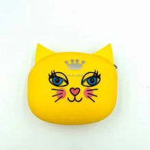 Custom Logo Eco-Friend Small coin purse silicone coin purse