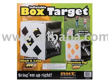 inflatable box target,inflatable cube target,inflatable target