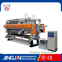 Jingjin new technology sludge dewatering machine /filter press