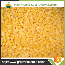HACCP BRC IQF Frozen Sweet Yellow Corn Kernels with Good Price
