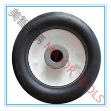 6x3 unusual size solid rubber toy wheel