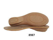 Soft natural rubber sole for shoes making