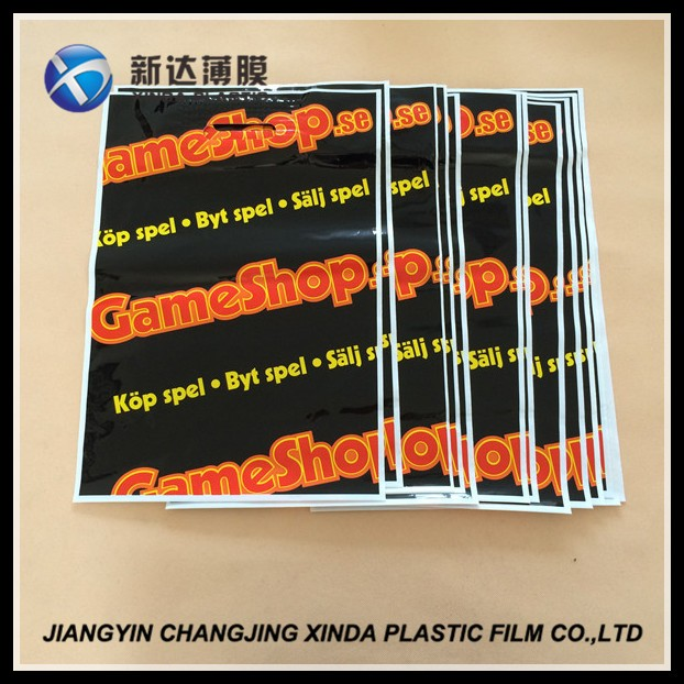 High-Density 30*40cm die cut handle strong medium orange bags for snack gift pack