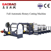 Paper And Film Rotary Cutting Machine With Computer Control