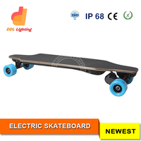 Electric Skateboard 1800W Wireless Remote Control Brushless Best Selling Electric Motor Longboard Easy to Control Golden Supplie